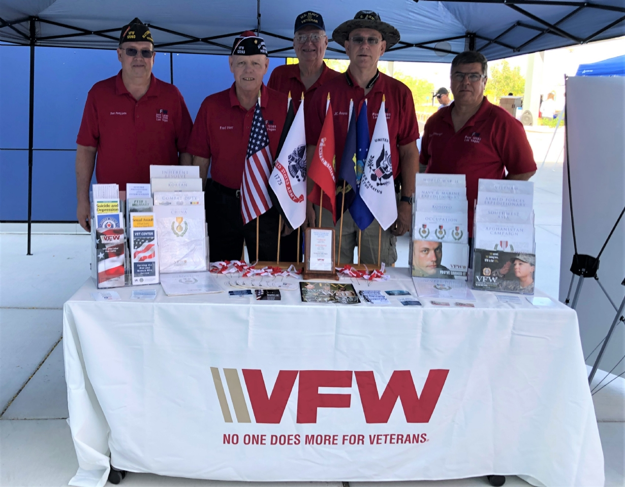 Post 12093 at the VA MayFair and Wellness Event