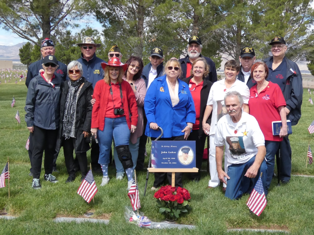 Memorial Day Event honoring Post 12093 namesake USMC PFC John Lukac.